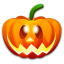 64x64px size png icon of Halloween happy