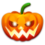 64x64px size png icon of Halloween nervous
