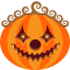 64x64px size png icon of Pumpkin Clown