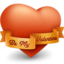 64x64px size png icon of Be My Valentine