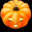 64x64px size png icon of Jack o lantern 2