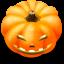 64x64px size png icon of Jack o lantern 4