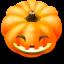 64x64px size png icon of Jack o lantern 6