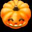 64x64px size png icon of Jack o lantern 7