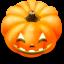 64x64px size png icon of Jack o lantern 8