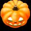 64x64px size png icon of Jack o lantern 9