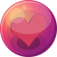 64x64px size png icon of heart pink 1