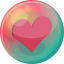 64x64px size png icon of heart pink 2