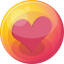 64x64px size png icon of heart pink 4