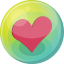 64x64px size png icon of heart pink 5