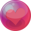 64x64px size png icon of heart pink 6