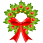 64x64px size png icon of Christmas bow