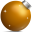 64x64px size png icon of Golden ball