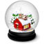64x64px size png icon of Christmas house