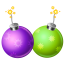 64x64px size png icon of firecracker 2