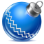 64x64px size png icon of ball blue 1