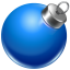 64x64px size png icon of ball blue 2