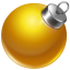 64x64px size png icon of ball yellow 2