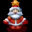 64x64px size png icon of Santa Klaus