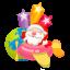 64x64px size png icon of santa plane