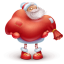 64x64px size png icon of santa gift