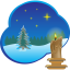 64x64px size png icon of Christmas picture