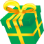 64x64px size png icon of Christmas present