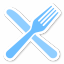 64x64px size png icon of Fork Knife