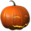 64x64px size png icon of pumpkin smile