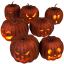 64x64px size png icon of pumpkins