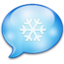 64x64px size png icon of Xmas Chat