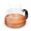 64x64px size png icon of Glass Teapot Red