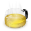 64x64px size png icon of Glass Teapot Yellow