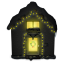 64x64px size png icon of Snowy House Dark