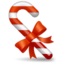 64x64px size png icon of Candy cane