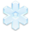 64x64px size png icon of Crystal Snowflake