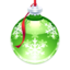 64x64px size png icon of Holly Ornament