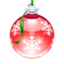 64x64px size png icon of Poinsettia Ornament
