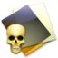 64x64px size png icon of Skull Folder