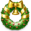 64x64px size png icon of Wreath