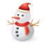 64x64px size png icon of Snowman