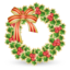 64x64px size png icon of Xmas wreath