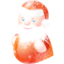 64x64px size png icon of santa