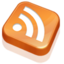 64x64px size png icon of RSS Feed Orange