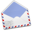 64x64px size png icon of AirMail Stamp