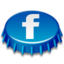 64x64px size png icon of Beer Cap Facebook