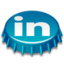64x64px size png icon of Beer Cap LinkedIn