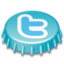 64x64px size png icon of Beer Cap Twitter