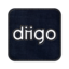 64x64px size png icon of Diigo square