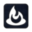 64x64px size png icon of Feedburner square
